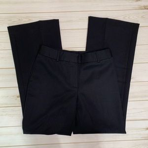Black trouser pant by J. Crew